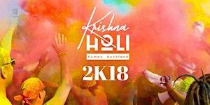Krishna Holi - Festival of Colours Auckland 2018