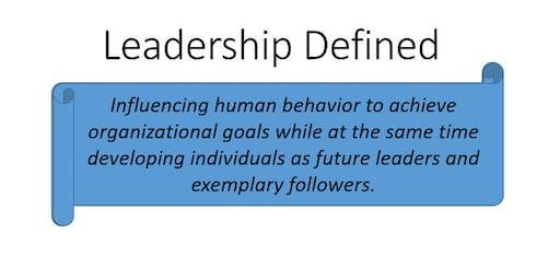 IGO Leadership Training Seminar