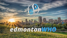 Edmonton World Health Organization logo