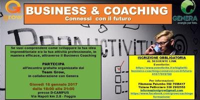BUSINESS & COACHING - CONNESSI CON IL FUTURO