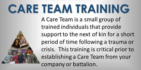 Care Team Training (HAAF) tickets