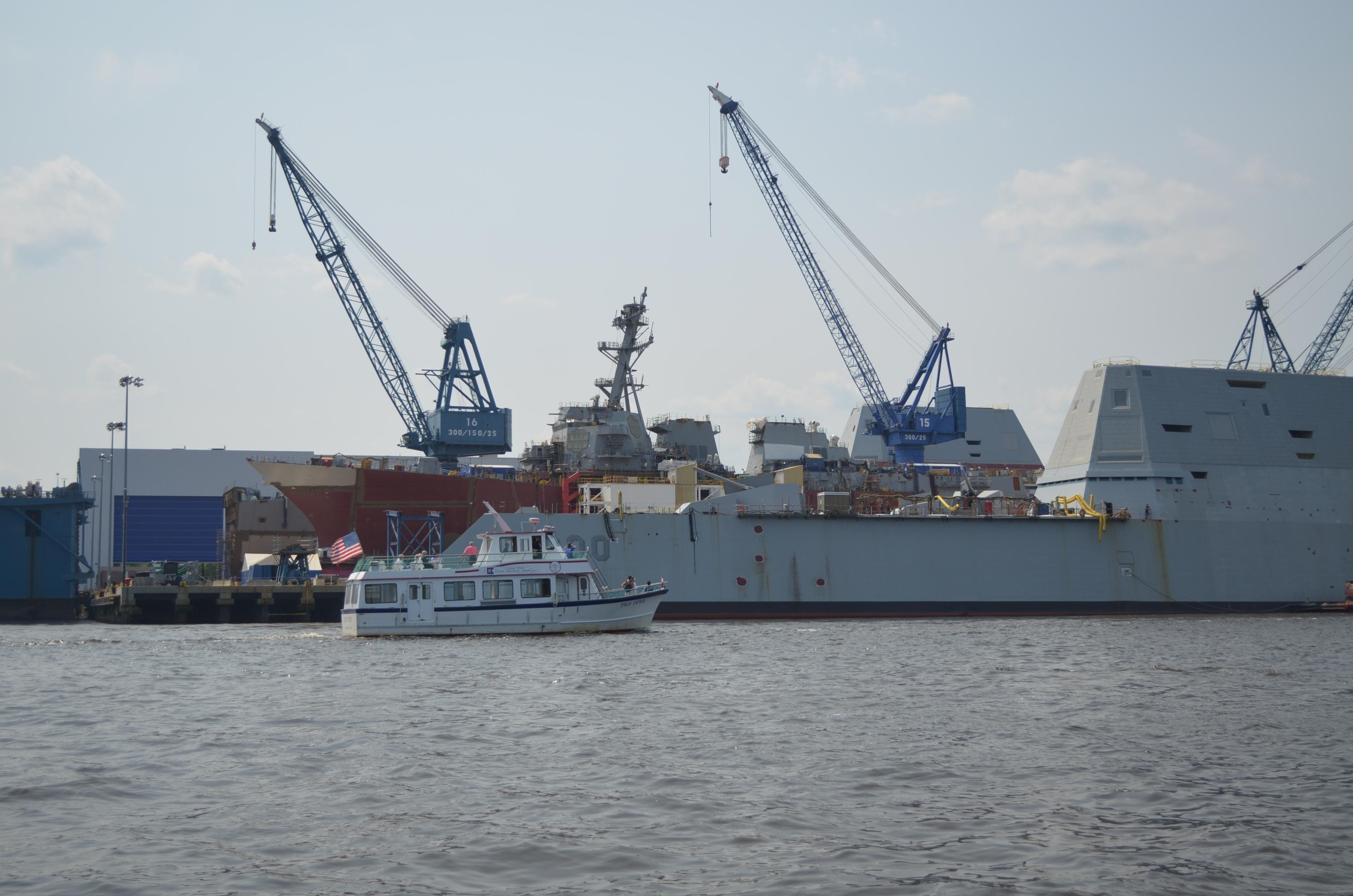 The Bath Iron Works Story: By Land & Sea