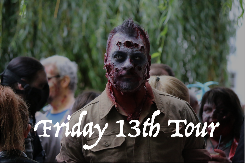 Friday 13th Murderers & Martyrs walking tour