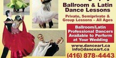 Ballroom dance class Thu 7-8pm