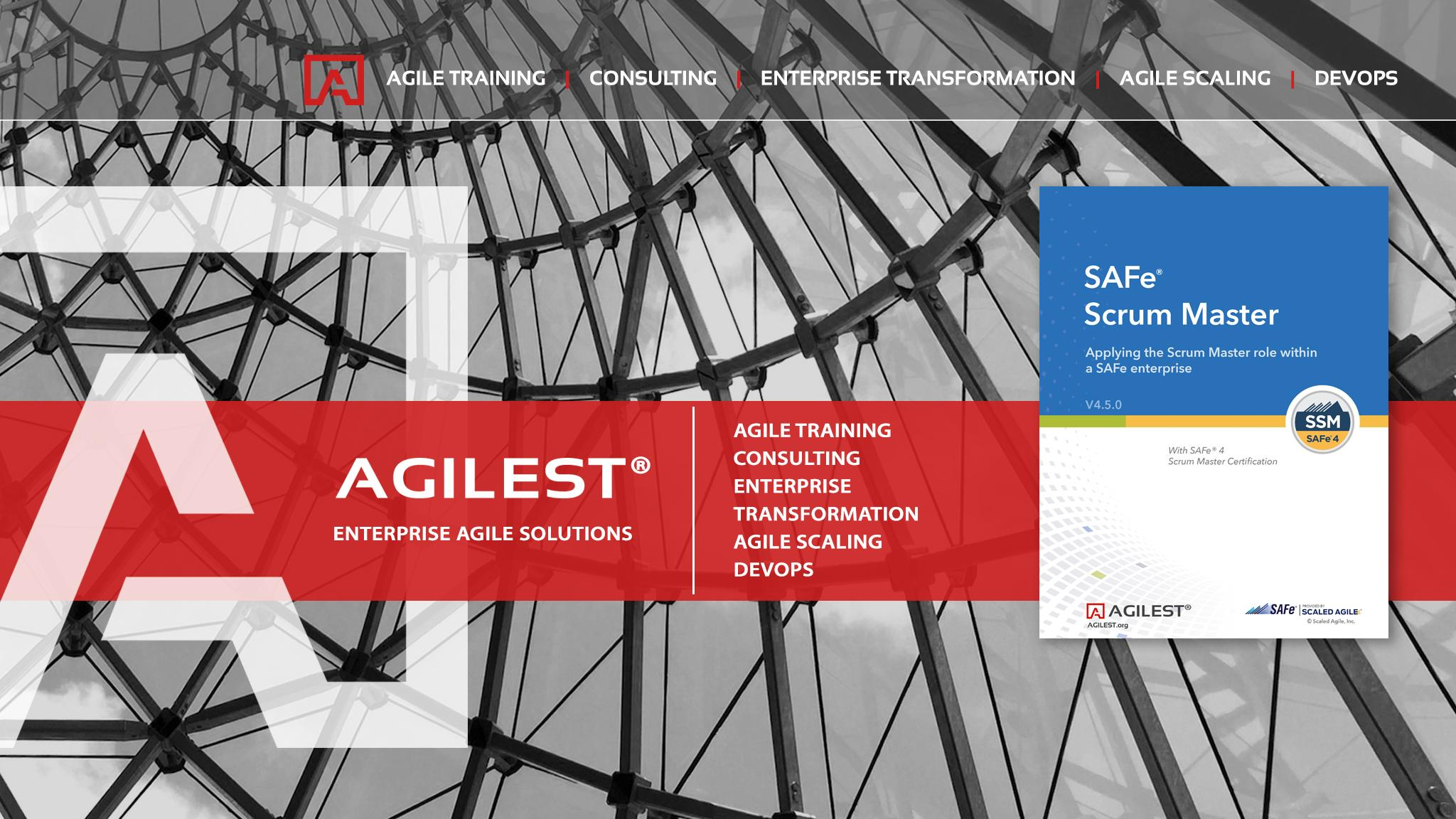 SAFe 4.5 Scrum Master Agile Certification Tra