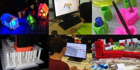 FabLabKids: 3D-Modellierung und 3D-Druck für Kids Tickets