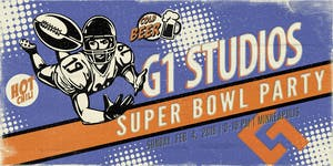 G1 Studios 8th Annual Super Bowl Party