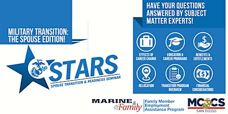 Spouse Transition & Readiness Seminar (STARS) tickets