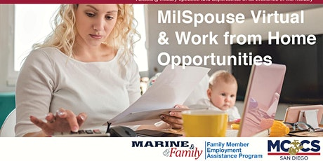 MilSpouse Remote Careers 101 tickets