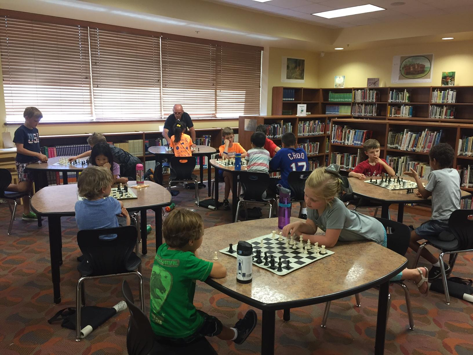 Dominion Trail Elementary School--Winter 2018 Chess Class photo
