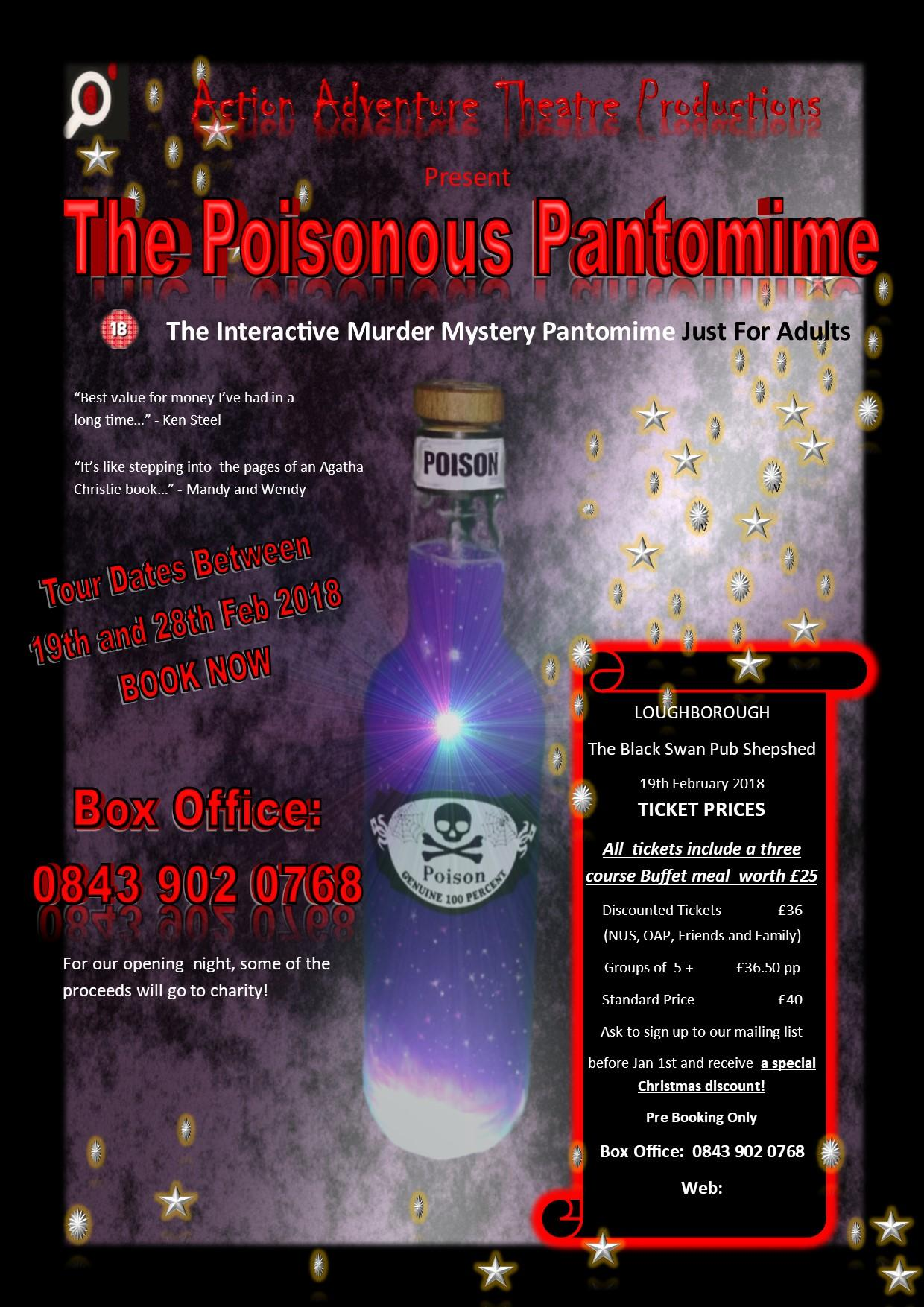 The Poisonous Pantomime (Interactive Murder M