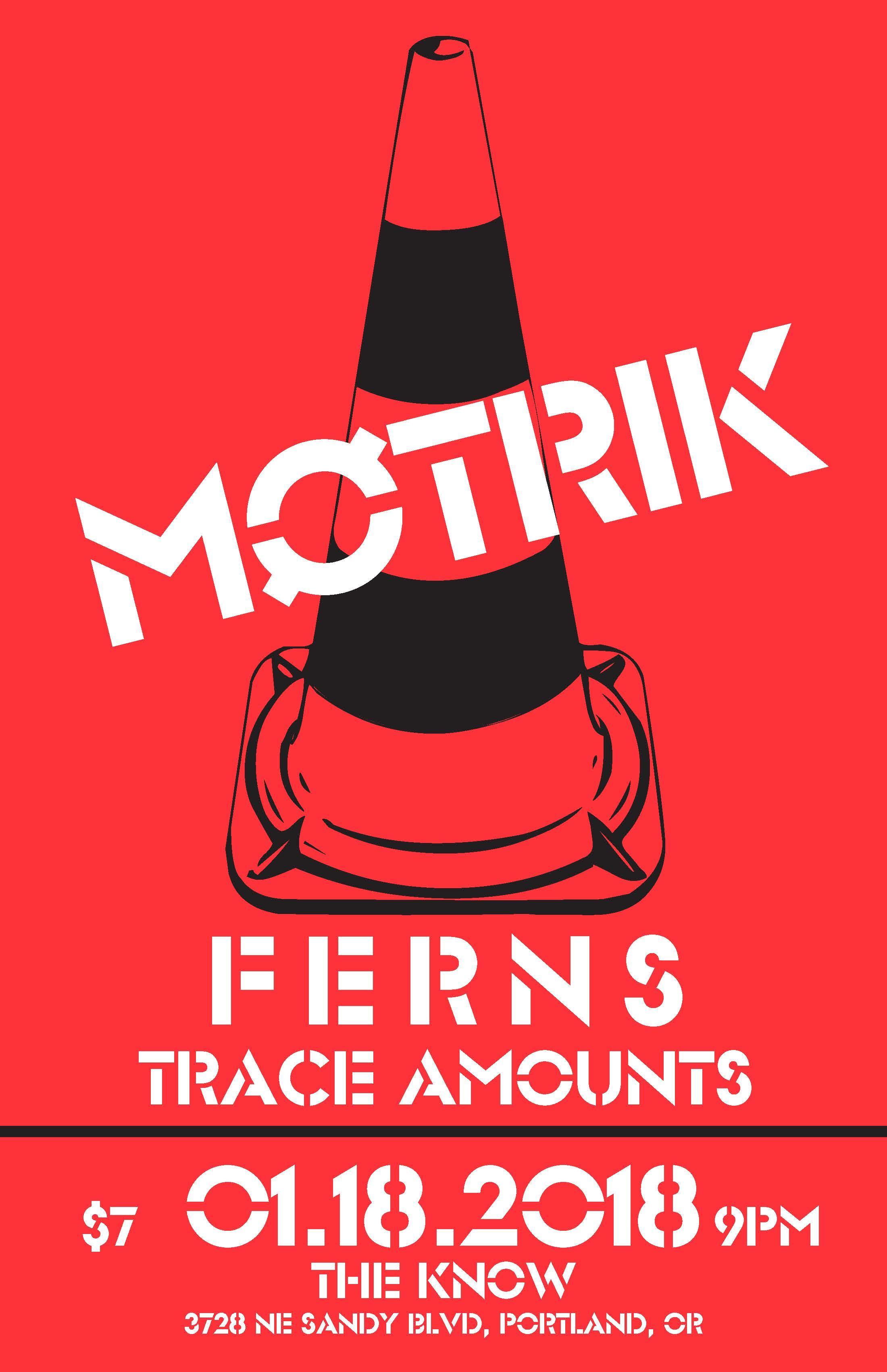 Møtrik // Ferns // Trace Amounts