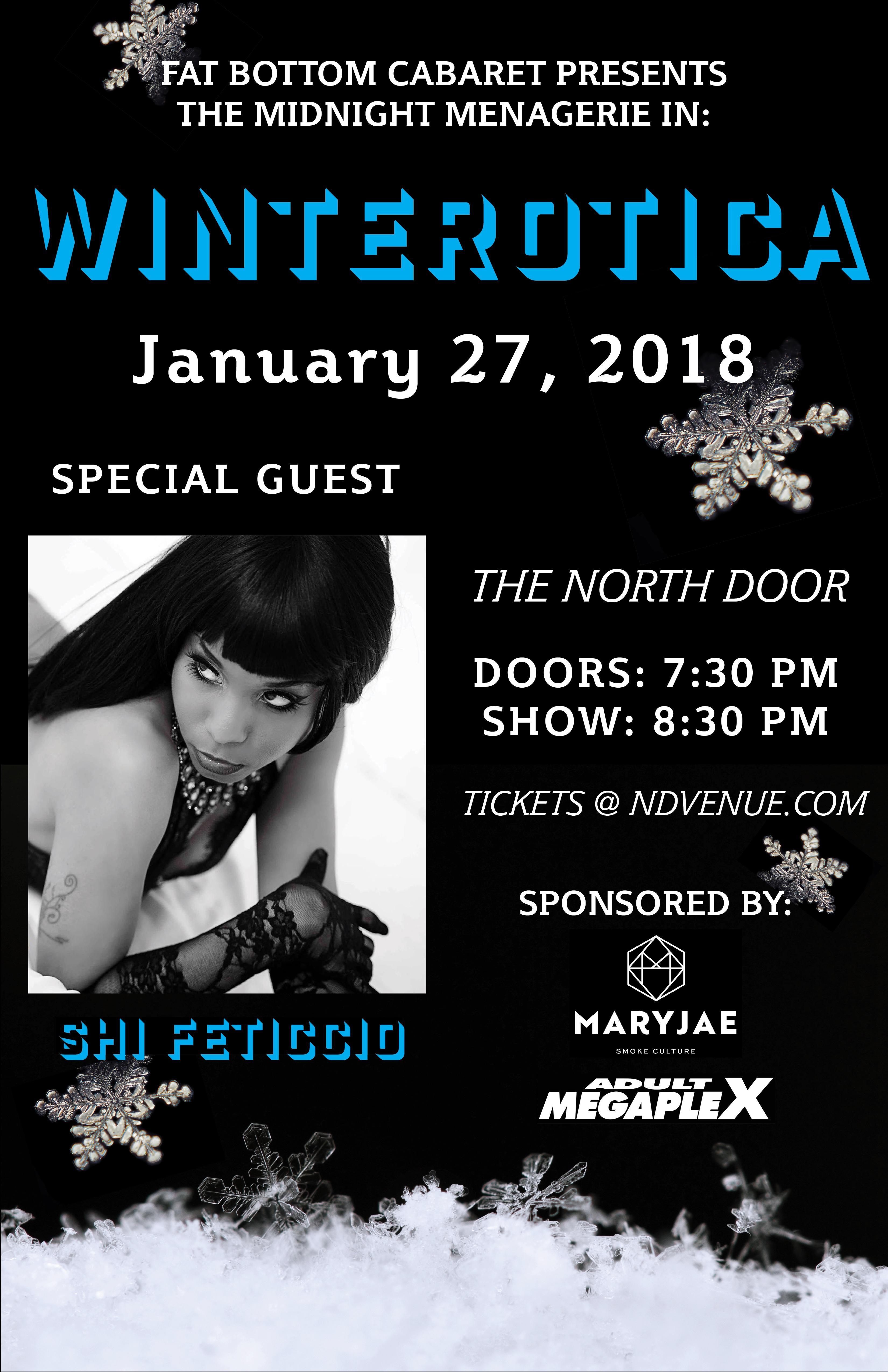 "Fat Bottom Cabaret & The Midnight Menagerie present: ""Winterotica!"""
