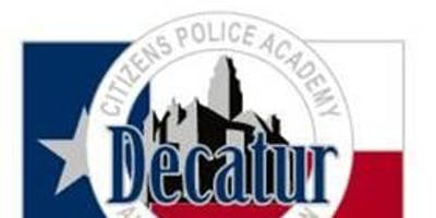 Decatur Police Department- Citizens Police Academy