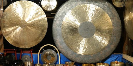 New Moon Gong Meditation with Mantra (February) tickets
