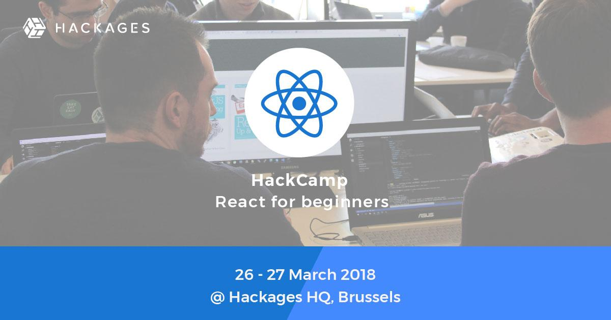 HackCamp Course - React for beginners