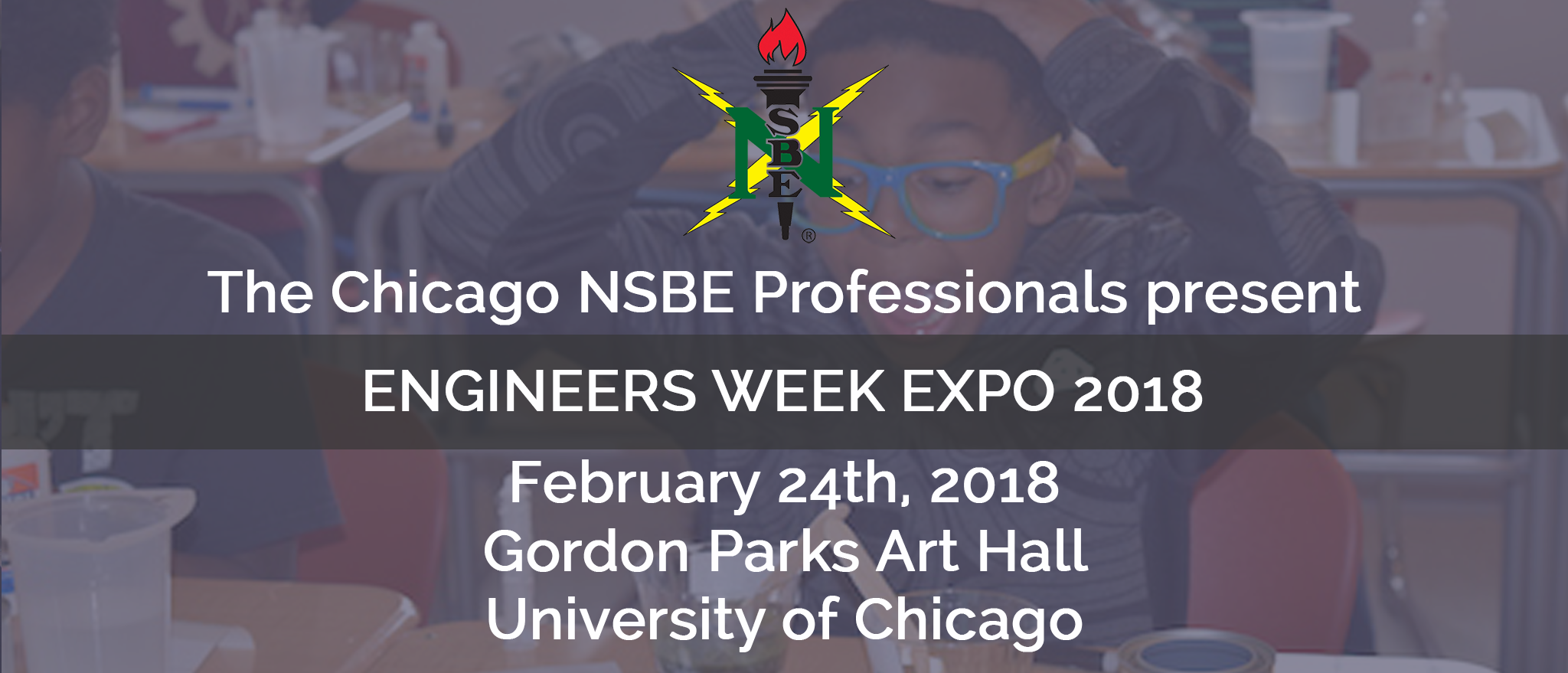 Chicago NSBE 2018 Engineers Week EXPO - Volun