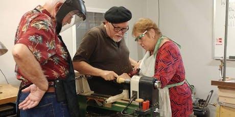 Woodpops Comprehensive Beginning Woodturning 14 hour Workshop entradas