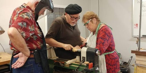 Comprehensive Beginning Woodturning 14 hour Workshop