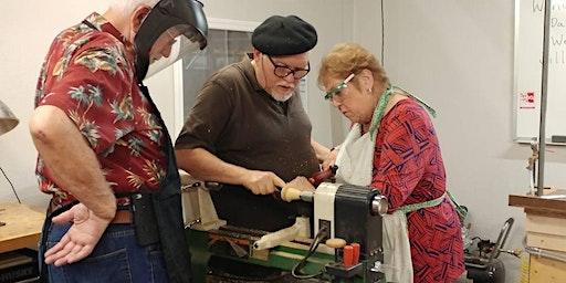 Woodpops Comprehensive Beginning Woodturning 14 hour Workshop