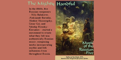 A MIGHTY HANDFUL: Music of the 'Russian Five'
