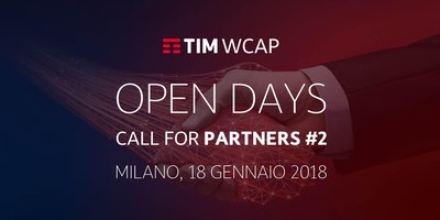 Call for Partners - Open Day #1