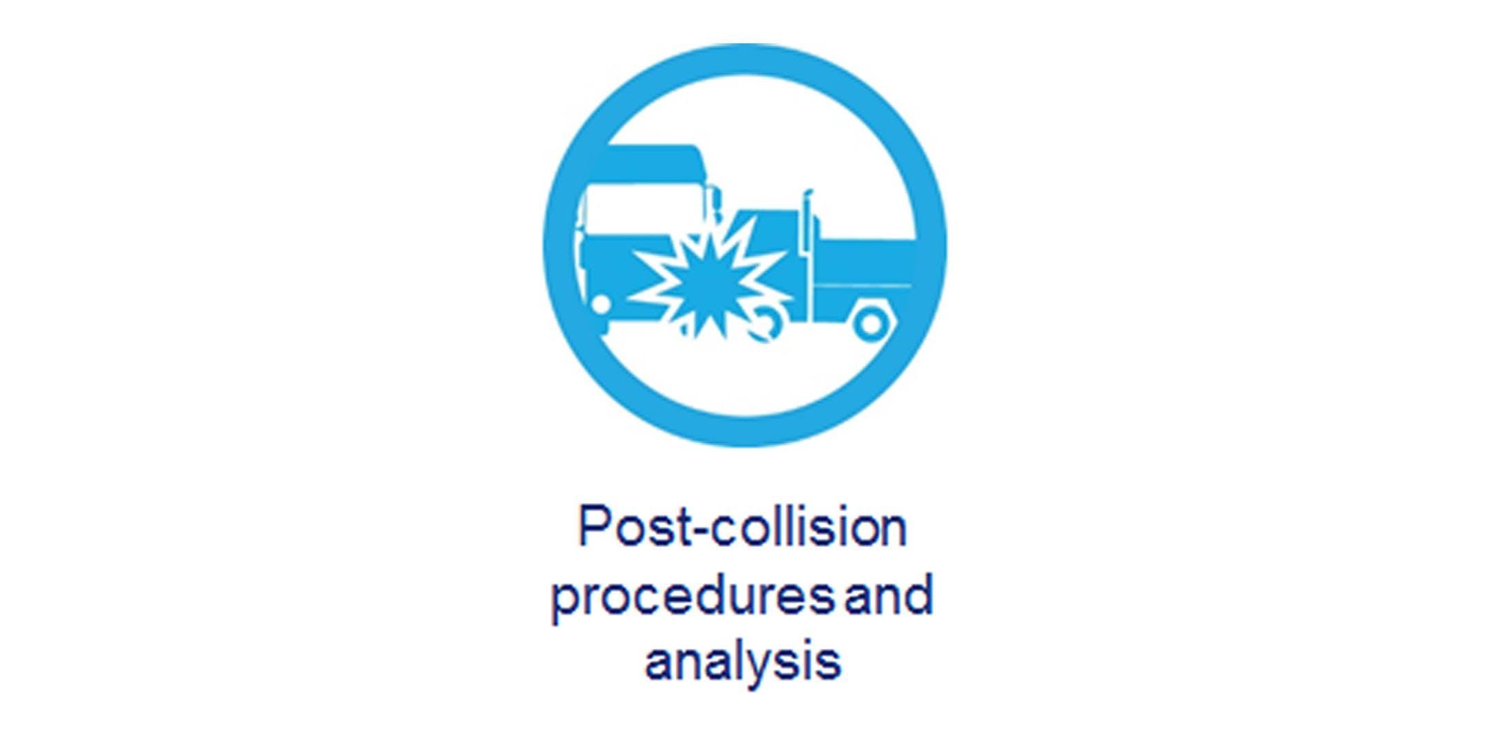 5 - Post-collision procedures and analysis -