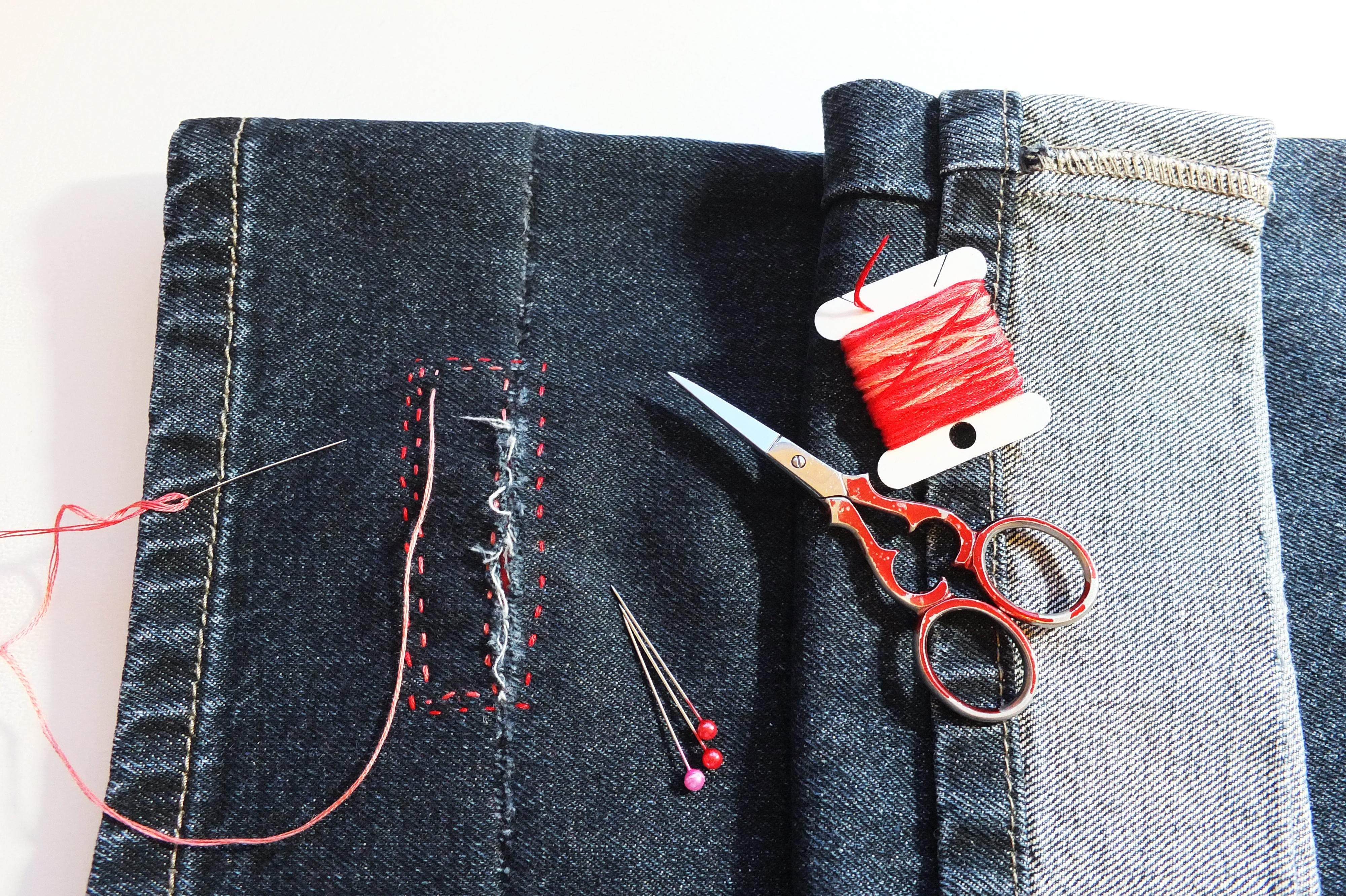 Creative Upcycling - Visible Mending
