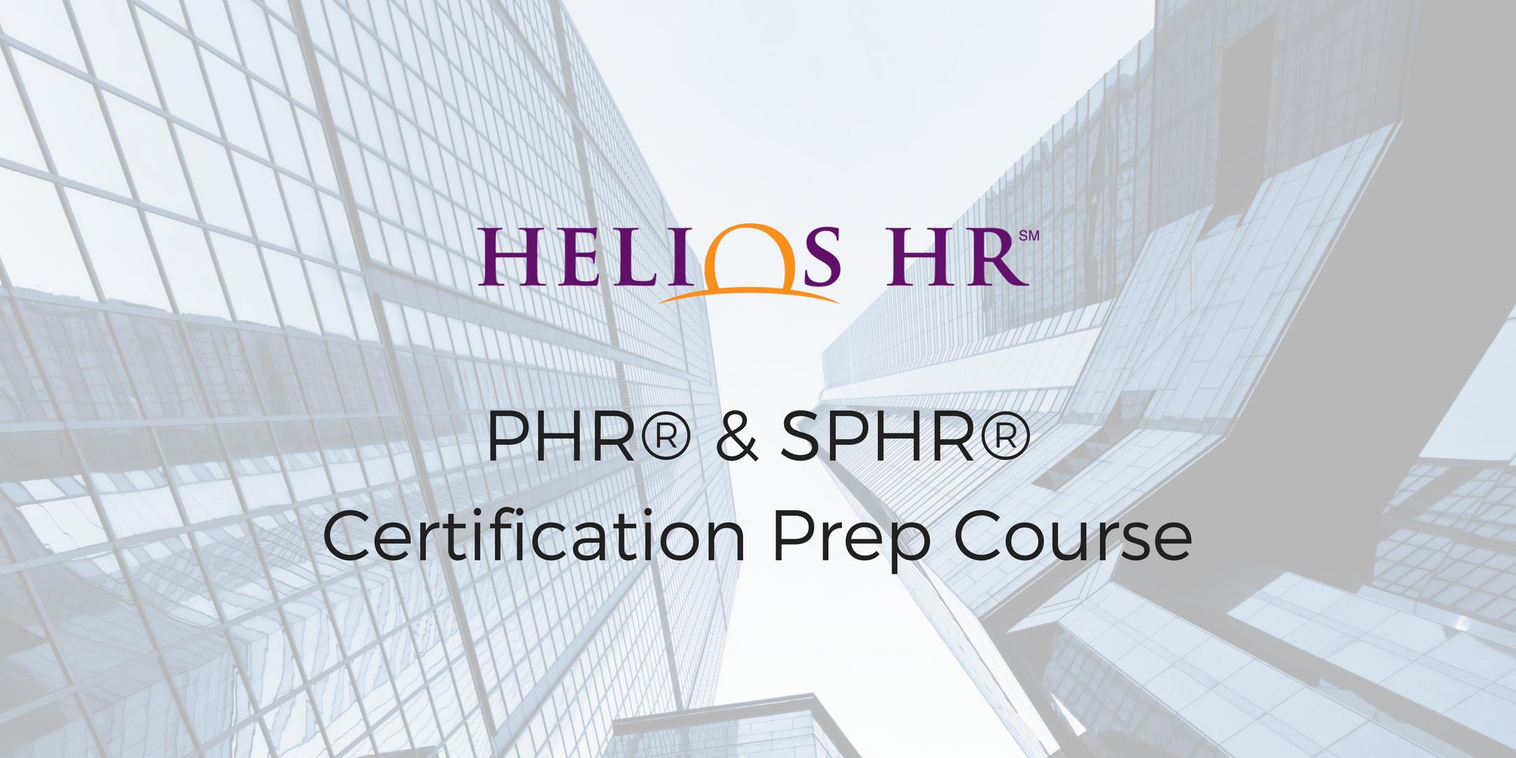 Phr shrm certification prep course 13 mar 2018 phr shrm certification prep course xflitez Gallery