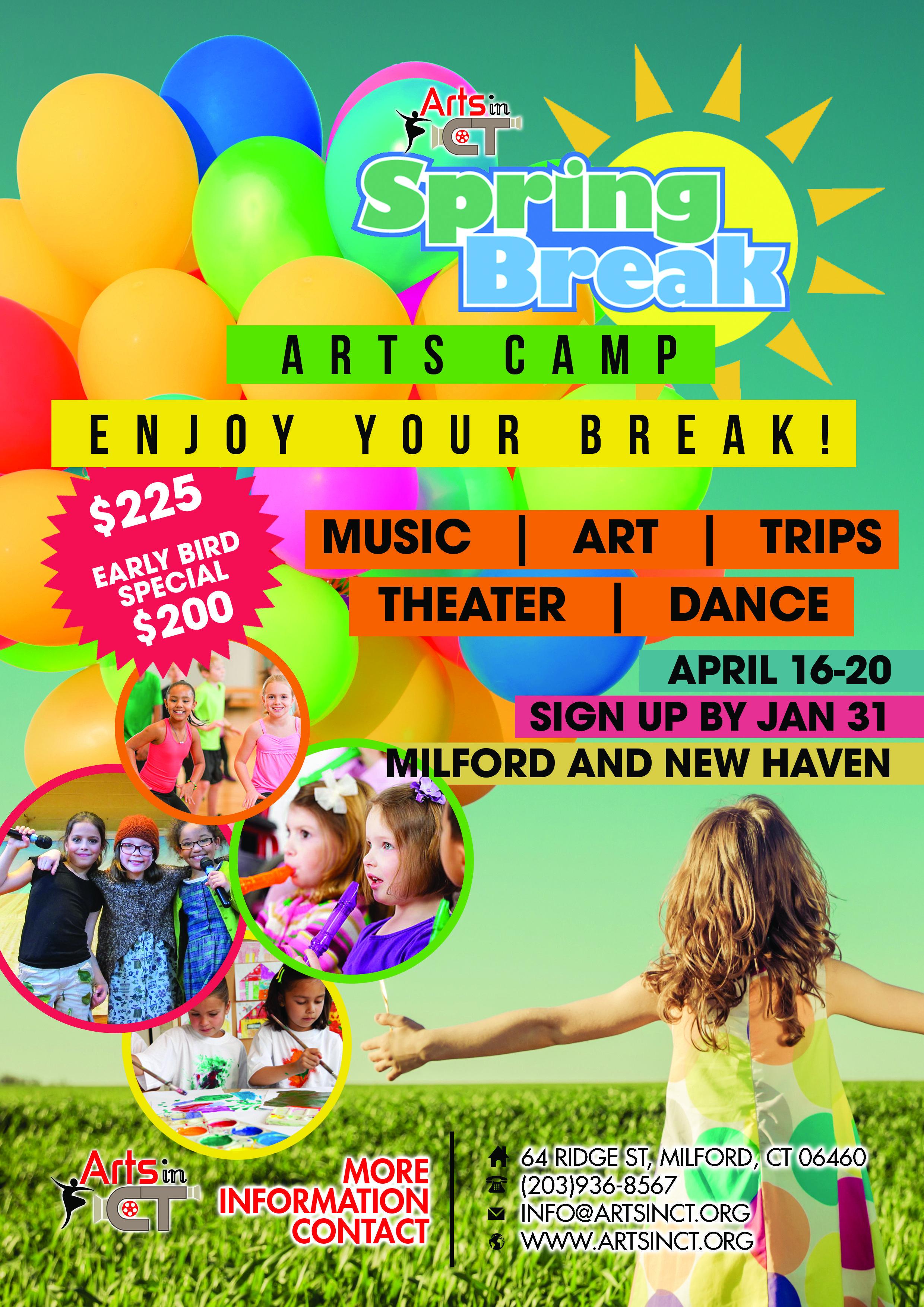 Spring Break Arts Camp