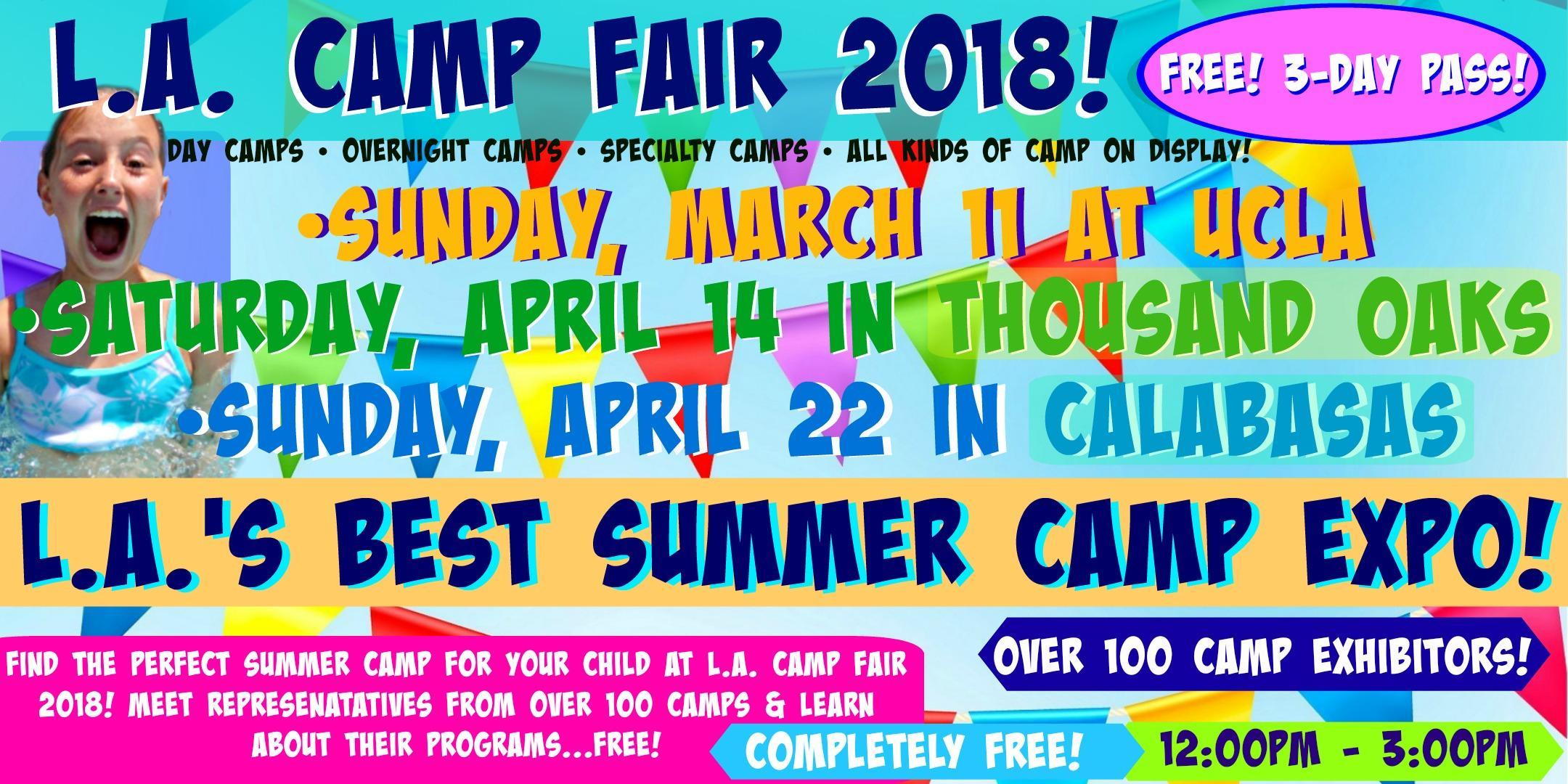 L.A. Camp Fair 2018