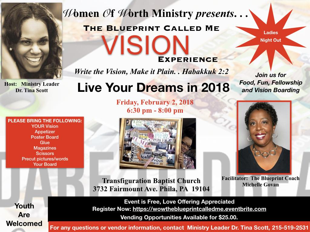 Women of worth the blueprint called me vision experience 2 feb 2018 women of worth the blueprint called me vision experience malvernweather Choice Image