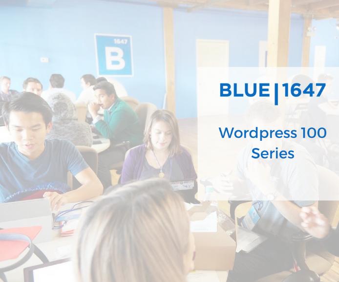 Wordpress Workshop 102: Building My Wordpress