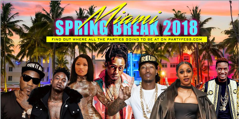 Miami Hip Hop Spring Break 2018 Parties Tickets