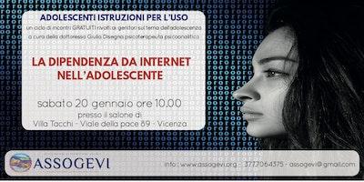 LA DIPENDENZA DA INTERNET NELL'ADOLESCENTE