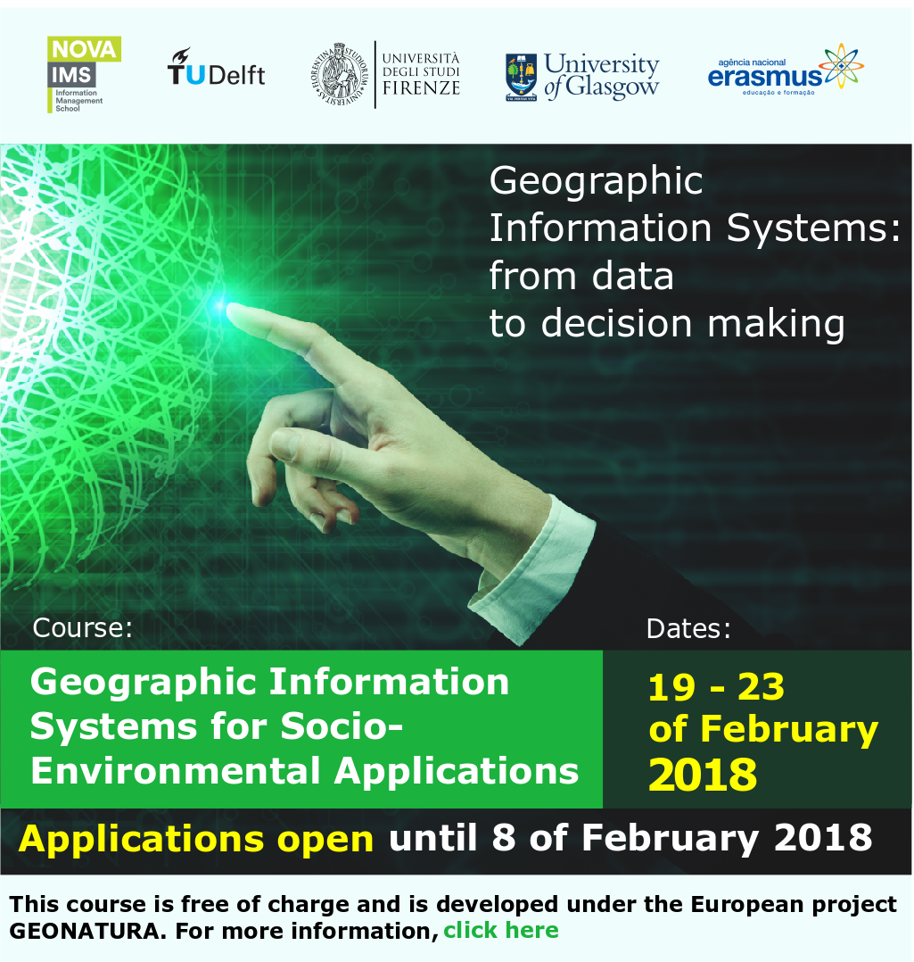 Geographic Information Systems: from data to