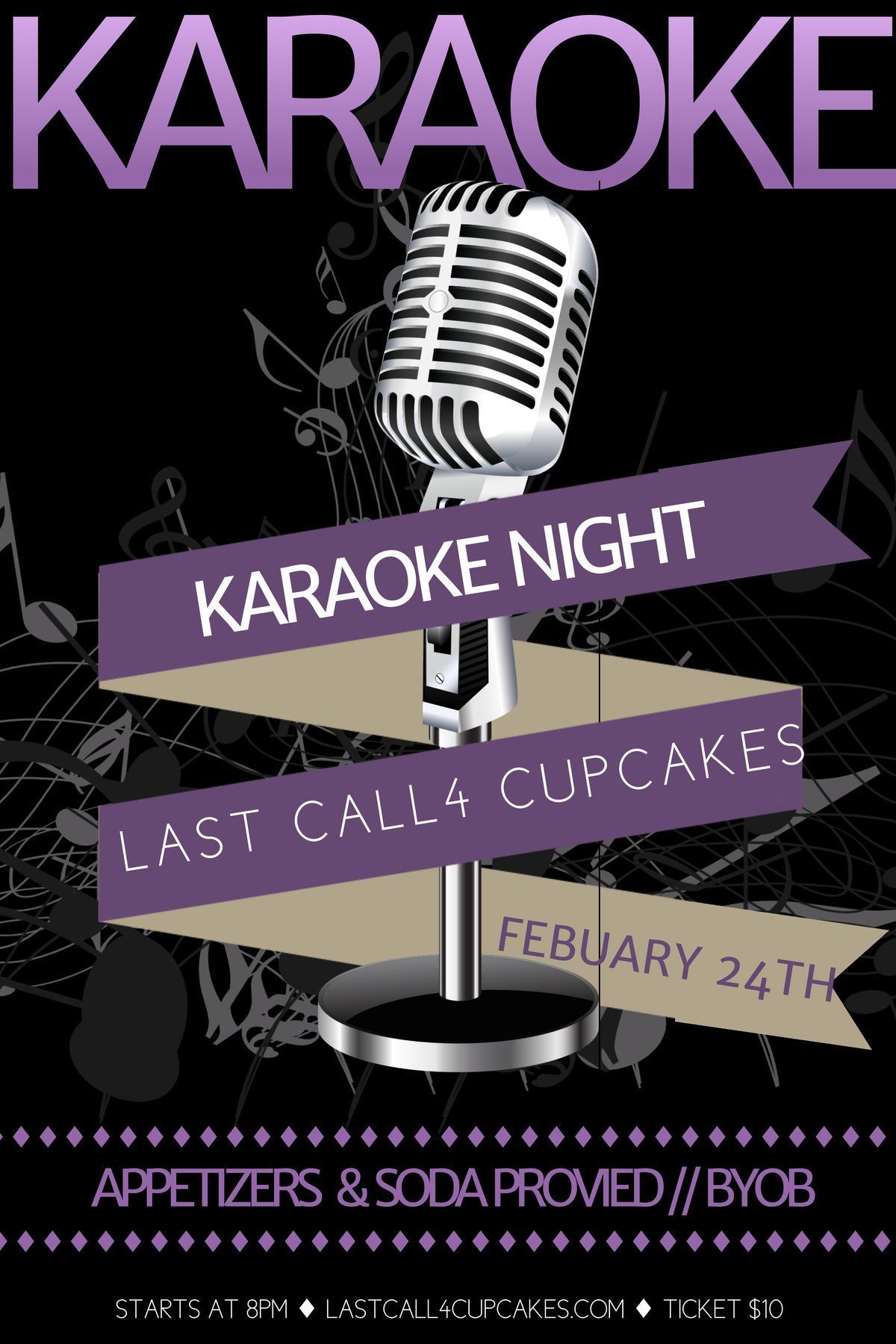 Join us for karaoke night