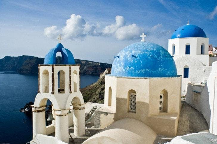 Greece:  Review of Athens & Santorini