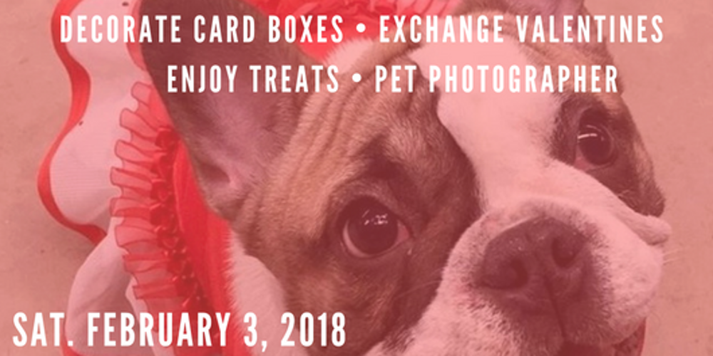 Valentines Day Pawty Tickets Sat Feb 3 2018 at 300 PM