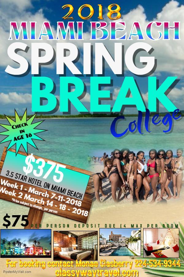 Spring Break Miami 2018 L College Hbcu