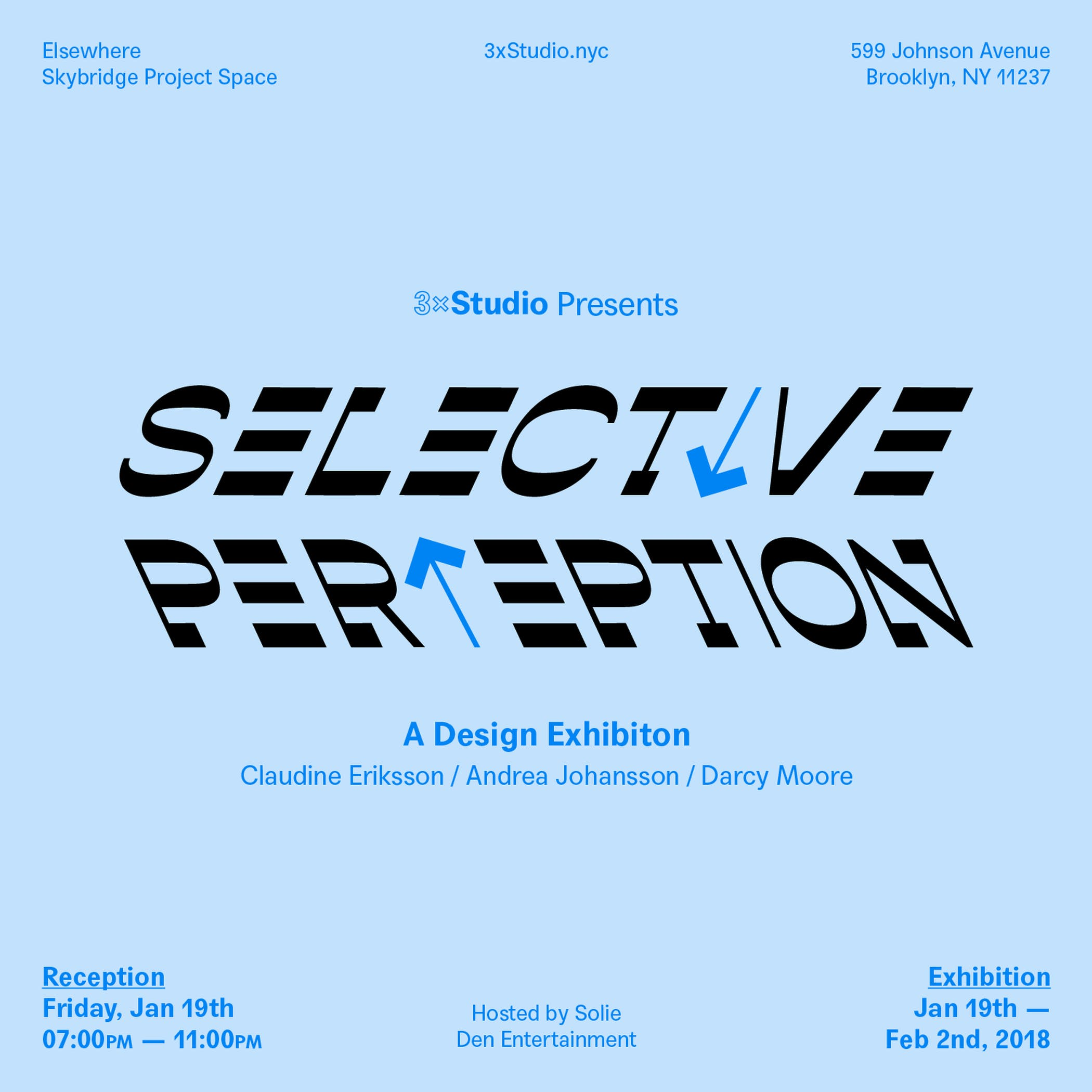 Selective Perception Opening Party