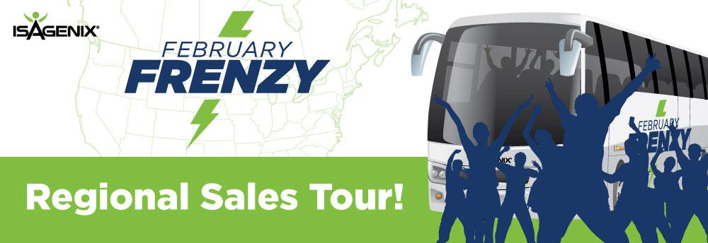 San Antonio, TX – February Frenzy Tour Event