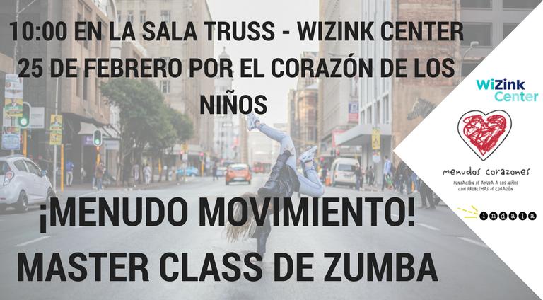 ¡Menudo movimiento! - Master Class de Zumba