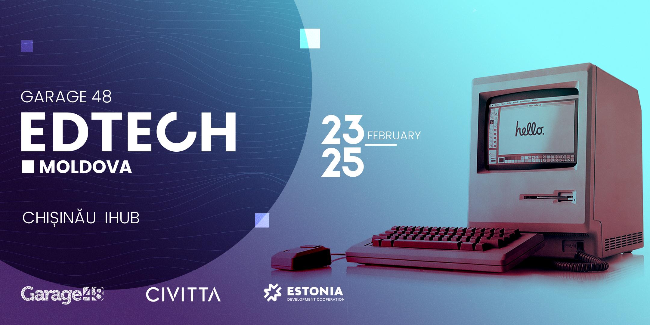 Garage48 Edtech 2018 hackathon in Chișinău