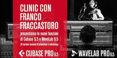 Presentazione Cubase 9.5 e Wavelab 9.5