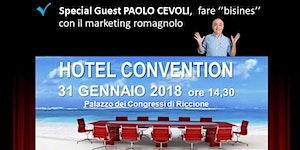 HOTEL CONVENTION CON PAOLO CEVOLI