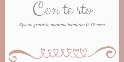 CONTESTO, SPAZIO GRATUITO mamma bambino 0-12 mesi