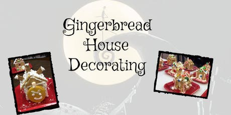 nightmare before christmas gingerbread house decorating tickets - Nightmare Before Christmas Gingerbread House