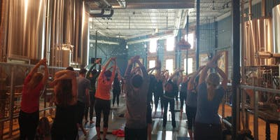 Yoga Flow at Utepils Brewery