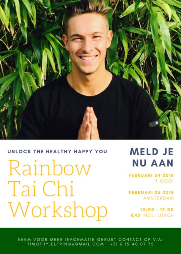 Rainbow Tai Chi Workshop | 8 Tai Chi Fundamen